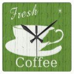 Tintable Rustic Coffee Clock  #Clock #Coffee #Rustic #RusticClock #Tintable The Rustic Clock