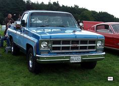 1978 GMC Sierra Classic, I just thought I'd go through the list of Cars that I've owned , Same color again. Mine had 5000 miles on it when I got it my Jr in High School