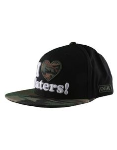 DGK Haters Cap / Black Woodlands