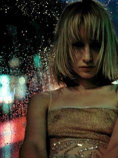"Vogue Italia August 1998 ""Photoreportage"" Model: Kirsten Owen Photographer: Mario Sorrenti"