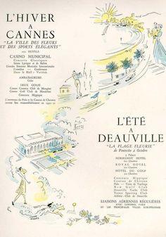 Vintage travel ad.
