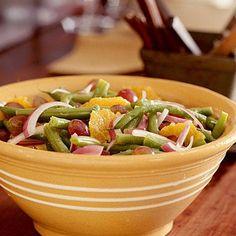 Halloween Green Bean Salad | CookingLight.com