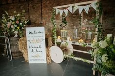 A Flower Filled Barn Wedding. Photography by Photos by Zoe