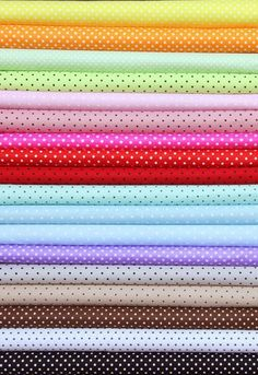 Cheap dot shirt, Buy Quality dot gift directly from China cotton spandex jersey yoga pant Suppliers: 25cm x 26cm ALL-OVER pringting Polka Dot 100% cotton fabric Quilting Bedding Baby Fabrics P
