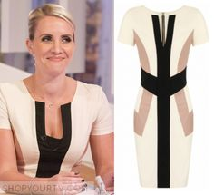 Loose Women: May 2016 Claire's Nude Colorblock Dress