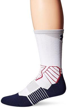 da51e516c NEW Men's Under Armour Drive Crew Basketball Soccer Socks Size 4-8.5 MSRP  $18 B3