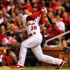 Pete Kozma - St. Louis Cardinals - on FIRE at spring training! Can't wait to watch them on TV tonight! Woot woot!