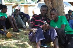 WeFarm is a peer-to-peer service that helps these farmers share information with each other via SMS  Photo credit: WeFarm