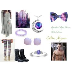 Colton Haynes (9) by smmashley on Polyvore featuring Allegra K and Sydney Evan