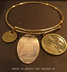 Turn your Disney Pressed Penny collection into a beautiful piece of jewelry with this DIY Pressed Penny Alex and Ani style Bracelet tutorial.