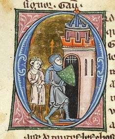 Lancelot du Lac, MS M.805 fol. 77v - Images from Medieval and Renaissance Manuscripts - The Morgan Library & Museum