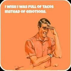 Delicious Taco Emotions by mattdaquirk on Etsy
