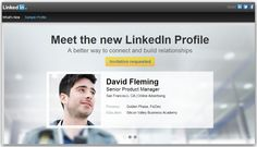 LinkedIn - Launches New Look for Profiles