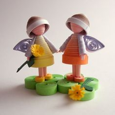 And this talented artist proves it. Flower Fairies Paper Sculpted Dolls, runnerbean These tiny paper sculptures are only 1.25 inches in h...