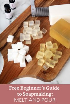 Guide to Soapmaking: Melt and Pour - Soap Queen , . Free Beginner's Guide to Soapmaking: Melt and Pour - Soap Queen , Free Beginner's Guide to Soapmaking: Melt and Pour - Soap Queen , Click below read it for more. Soap Making Recipes, Homemade Soap Recipes, Homemade Paint, Homemade Soap Bars, Diy Savon, Soap Making Supplies, Soap Base, Lotion Bars, Cold Process Soap