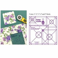 Fussy Cut Ruler Set by Marti Michell Fast Shipping TR181