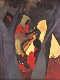 Omair Ahmad goes looking for Amrita Sher-Gil in his hometown Gorakhpur Amrita Sher Gil, Famous Artists Paintings, Indian Illustration, Female Painters, India Painting, Indian Artist, Archetypes, Mixed Media Art, Modern Art