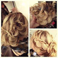 fleurdeforce's wedding hair!!!<3