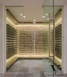 Vinium Series - Architectural Wine Racking - contemporary - wine cellar - other metro - Kessick Wine Cellars