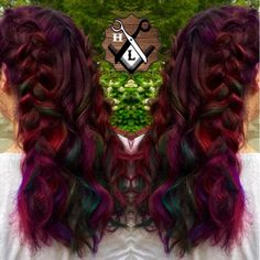 This week's Hairstyle of the Week goes to @the_hair_lodge for this raspberry rainbow look!  For your chance to be our next featured winner, follow us on Instagram and tag your work with #lpweeklydo!