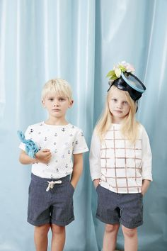 Carrement Beau Spring/Summer 17 Collection Available on Smallable : http://en.smallable.com/carrement-beau Boys. Girls. Toddlers. Childrenswear. Fashion. Summer. Outfits. Clothes. Smallable
