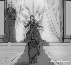 20 Months Without Lexa - but here at Clexa Comic she's back, fiercer than ever! #LOSOsneakpeek sketch ⚔️