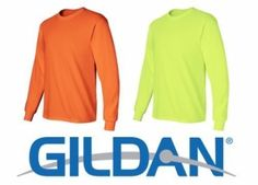 Brand New GILDAN safety green T-shirt For men, M, L, XL,XXL and more #Gildan #BasicTee