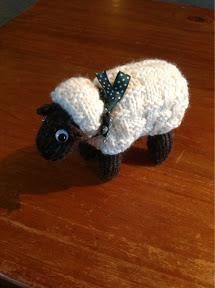 Sheep Knitting Pattern - Glipho