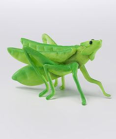 Love this Peapod Grasshopper Figurine by Home Grown on #zulily! #zulilyfinds