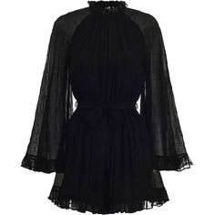 Discover the latest collection of designer jumpsuits & playsuits with ZIMMERMANN. Find the one that suits your style by shopping online or instore. Playsuit Romper, Ruffle Romper, Ruffle Jumpsuit, Denim Playsuit, Jumpsuit Outfit, Mode Ootd, Designer Jumpsuits, Looks Plus Size, Long Sleeve Romper