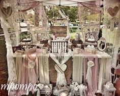 Vintage Ρομαντική Βάπτιση stb087 Candy Bar 15 Años, Candy Table, Baptism Reception, Christening Decorations, Girl Christening, Linens And Lace, Event Decor, Event Planning, Diy Wedding