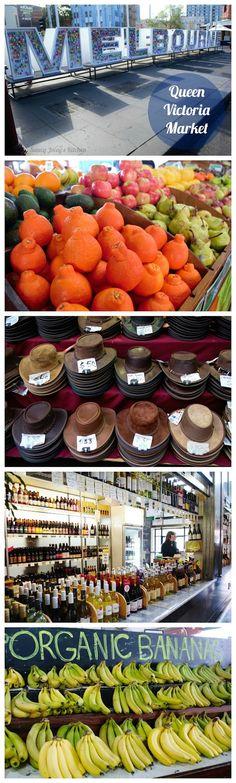SJK Travels - Queen Victoria Market in #Melbourne, #Australia is every foodie's paradise! #SJKTravels #wanderlust