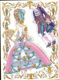 Marie Antoinette paper dols by Peggy Jo Rosamond - edprint2000paperdolls - Álbuns da web do Picasa