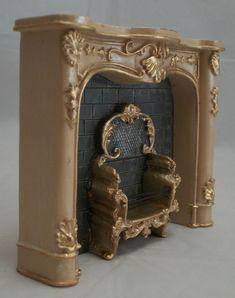 Reutter Porzellan. Cream Fireplace. One fireplace per order. | eBay! $29.00