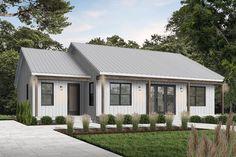 Modern Style House Plan - 2 Beds 2 Baths 1604 Sq/Ft Plan #23-2715 - Houseplans.com