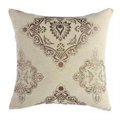 One of my favorite discoveries at ChristmasTreeShops.com: Damask Oversized Throw Pillow