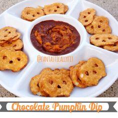 Chocolate Pumpkin Dip