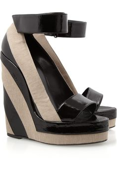 Ugh these wedges are amazing from Pierre Hardy