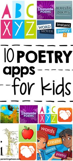 10 Poetry Apps for K