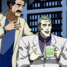 The Joker Threatens to Kill Conan O'Brien in Batman: The Dark Knight Returns, Part 2 Clip - Conan O'Brien plays Gotham City talk show host Dave Endochrine in this latest look at the upcoming DC Comics animated adventure.