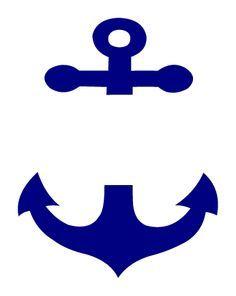 free chevron anchor monogram design - Google Search