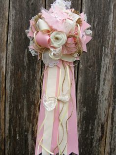 Vintage baby shower-vintage baby shower mum-lace and by bonbow
