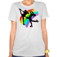 Be inspired with this pretty Figure Skating design showing two  beautiful and graceful Ice Skaters. http://www.zazzle.com/mysportsstar/gifts?cg=196701621872813315 #Ilovefigureskating #Iceprincess #Figureskater #IceQueen #Iceskate #Skatinggifts #Iloveskating #Borntoskate #Figureskatinggifts