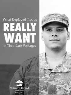 While it's nice to get a sentimental touch every once and a while, here's a look at what service members really want in their care packages.
