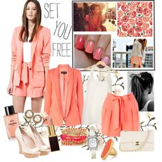 LoVe YoUr SeLf, created by lovelyleah23 on Polyvore/ LOVE THIS TONE