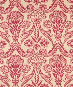 Covington Canterbury Antique Red Fabric