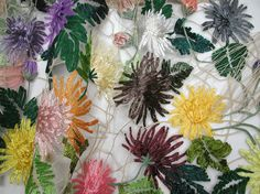 """Karen Nicol is a Textile Designer / Artist specializing in embroidery. She is the winner of the """"Beryl Dean Award for Teaching Excellence 2014"""" as presented ..."""