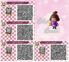 Dark path - dunkler Weg - Dunkelweg - Code - qr - ACNL - Broesel - Animal Crossing New Leaf - ACHHD