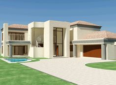 House plans south africa Nethouseplans Beautiful 4 Bedroom house plan with double garages, South Africa double story 3 bedroom house plans double storey 4 Bedroom house plans modern house plans blueprint ranch house plans House Plans Uk, House Plans With Photos, 4 Bedroom House Plans, Simple House Plans, Garage House Plans, Family House Plans, Modern Floor Plans, Farmhouse Floor Plans, Cottage Floor Plans