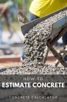 Calculate cubic yards of concrete or the pre-mixed bags needed for a slab, footing, or wall, or stairs project. Plus, get an estimated cost of concrete. Awesome Woodworking Ideas, Best Woodworking Tools, Woodworking Joints, Woodworking Workshop, Woodworking Techniques, Woodworking Furniture, Woodworking Projects, Woodworking Organization, Woodworking Garage